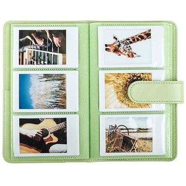 Fujifilm instax Laporta mini Film Uyumlu Yesil 108'li Dikdörtgen Albüm Renkli